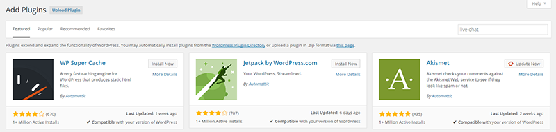Search Wordpress Plugin